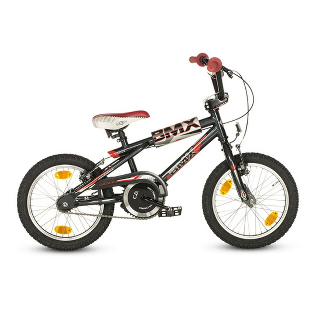 16'' Loekie Bmx Blackgrey